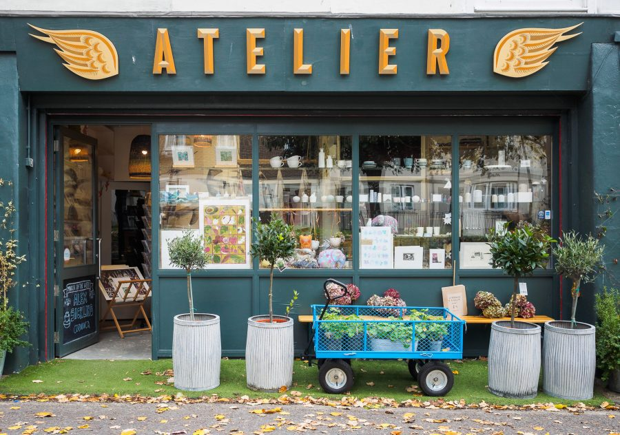 Atelier 51 Brighton Christmas open shop and studios