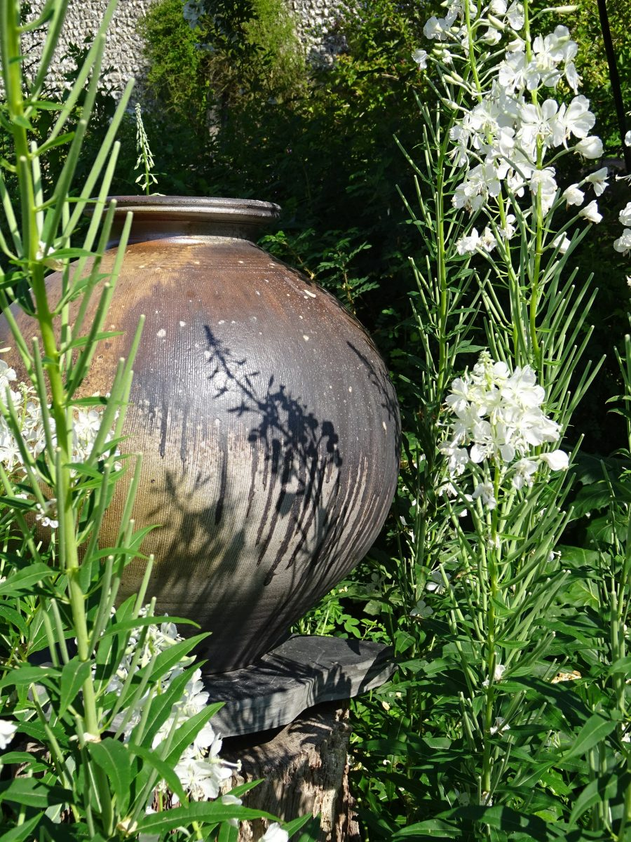 Pot in the Garden