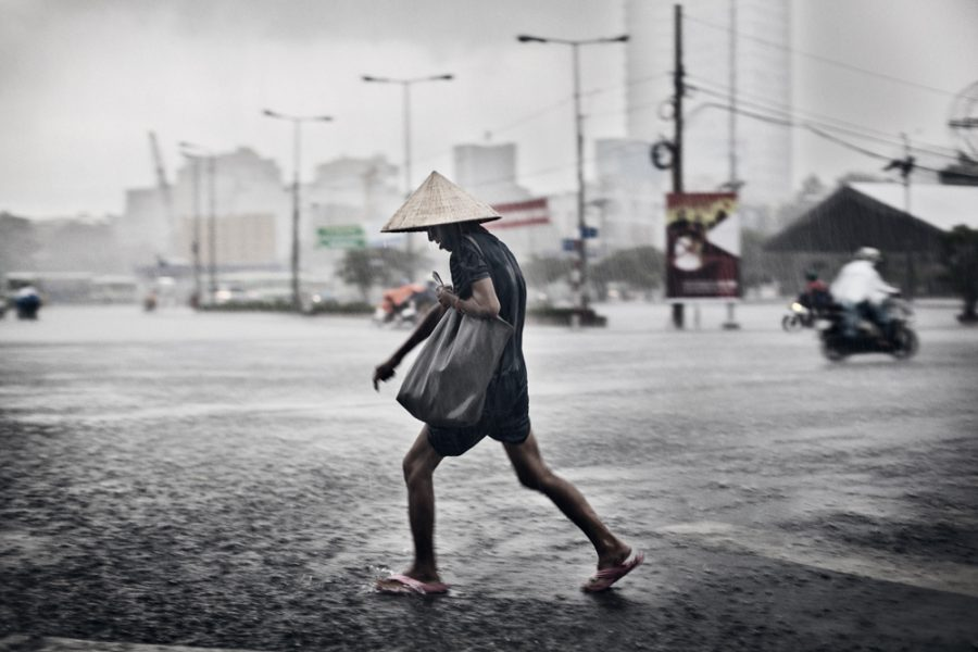 Saigon Rain - Photographer Michael C Hughes