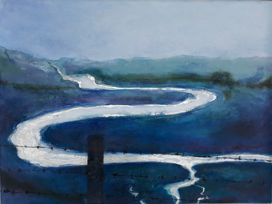 Cuckmere Haven painting