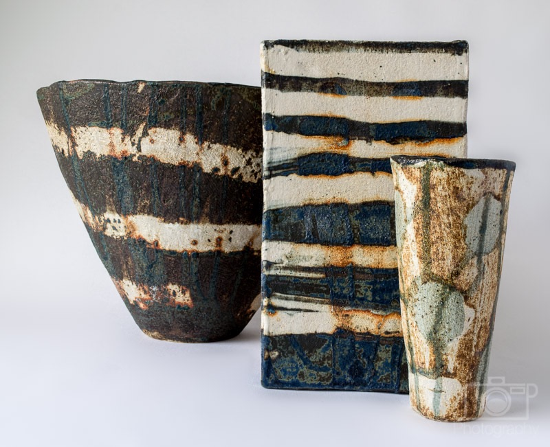 Hand built Ceramics using the coil method