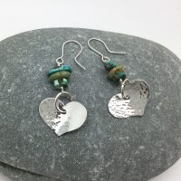 Silver and semi-precious stone jewellery