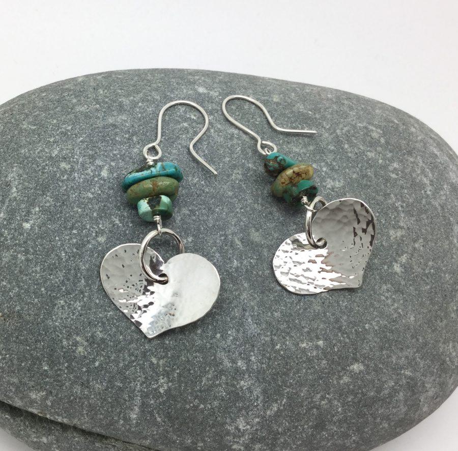 Silver and semi-precious stone jewellery