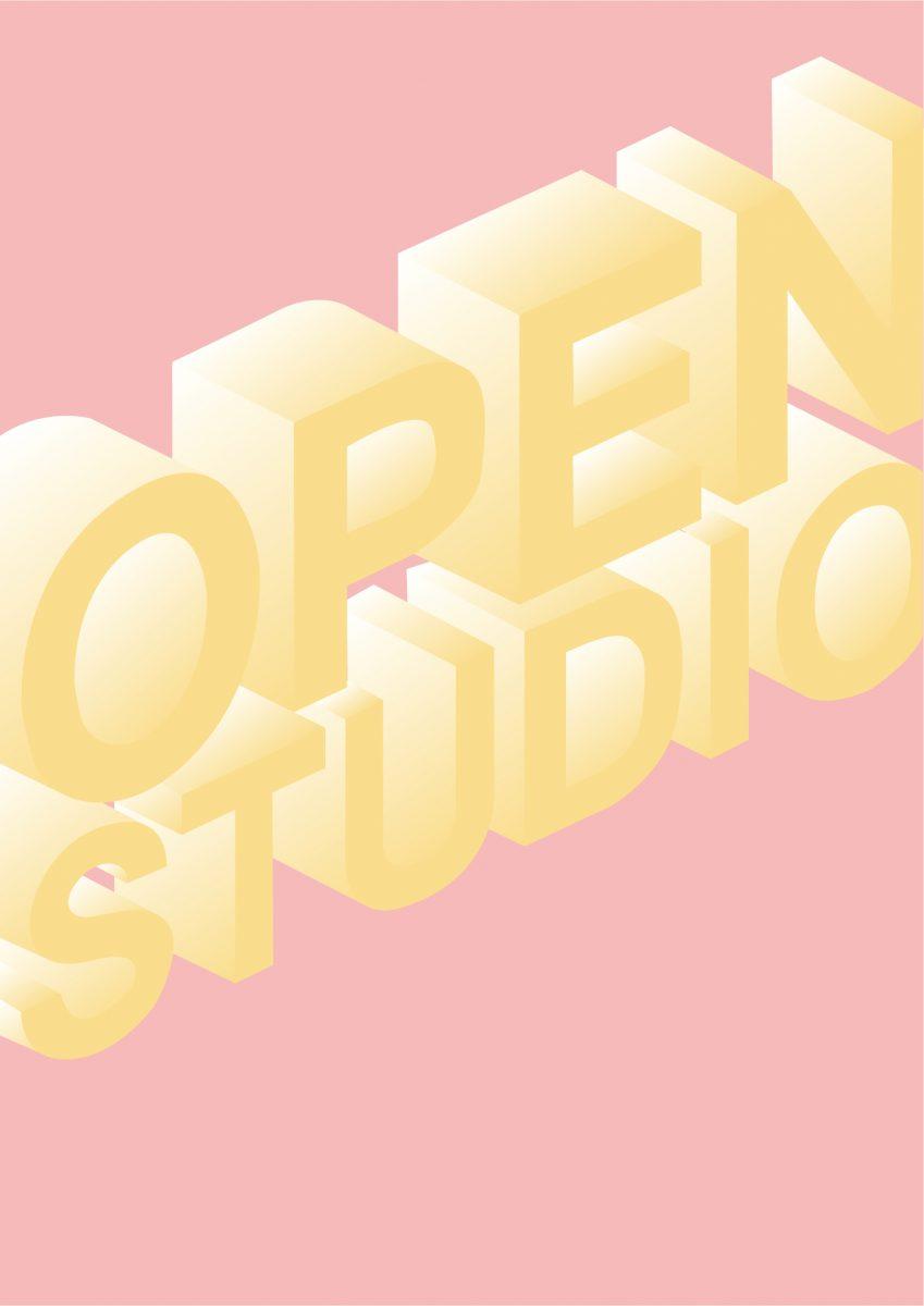 graphic -  wording Open Studio