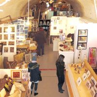 A working studio & gallery situated in the historic Brighton Kings Road Arches