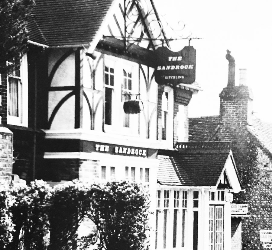 Old Photo of the Sandrock, when it was a pub