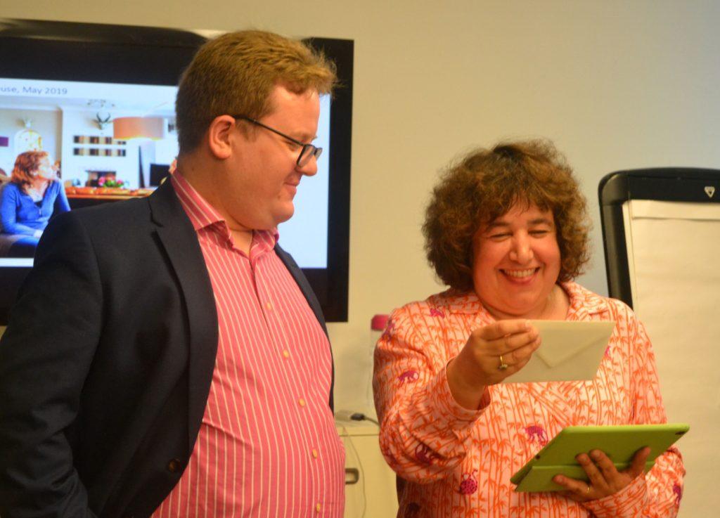 Angi Mariani & Mark Walker -Latest Best Open House Award