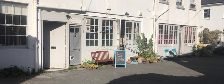 Photo of the outside of Arundel Mews workshops