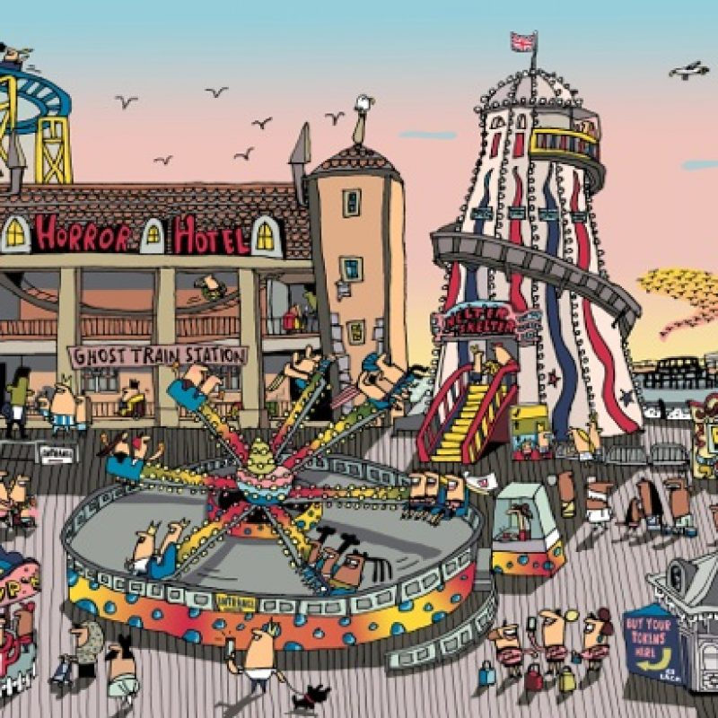 Jigsaw puzzle featuring Brighton's Palace Pier