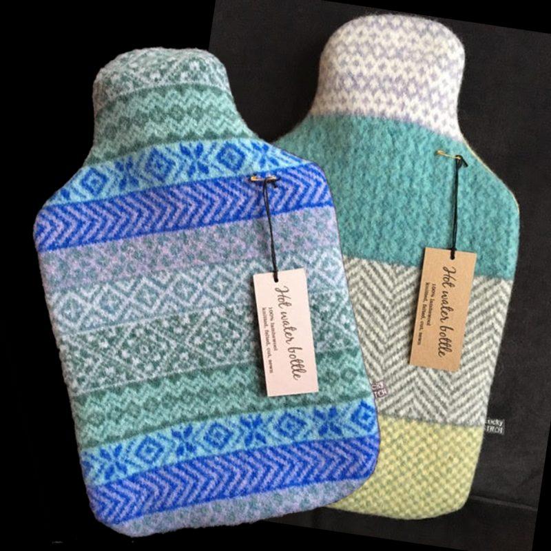Lambs Wool hot water bottle