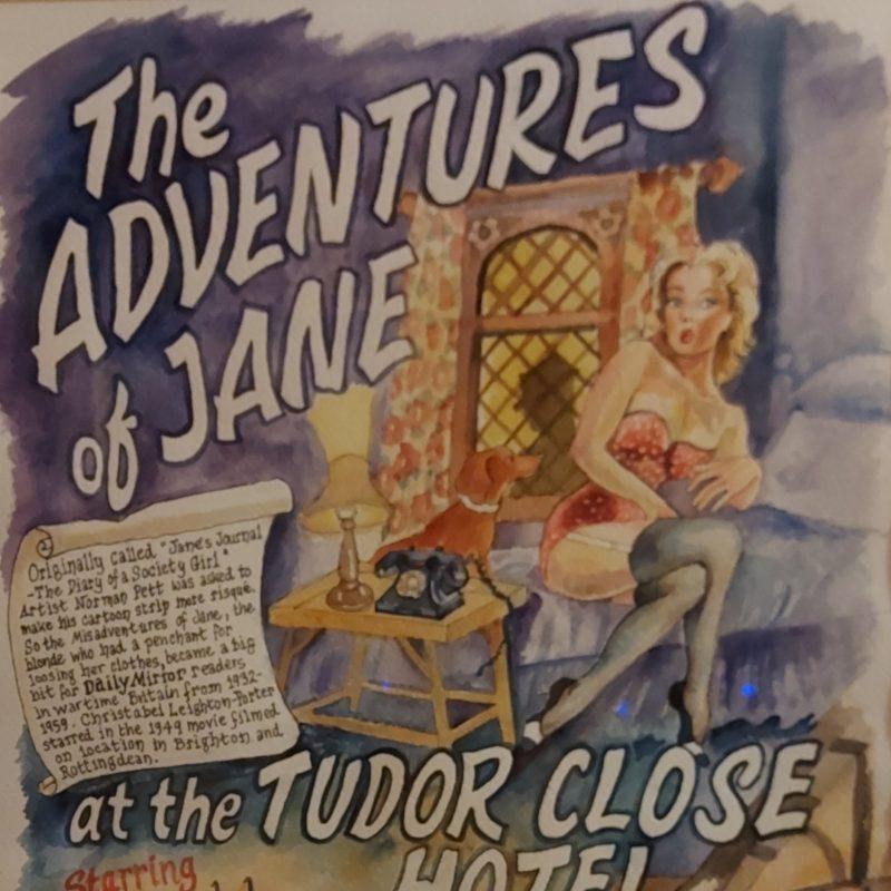 Illustration of Jane the cartoon character
