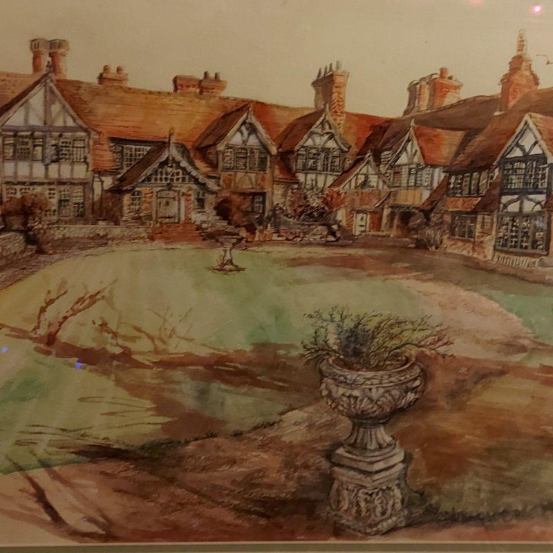 Mock Tudor buildings