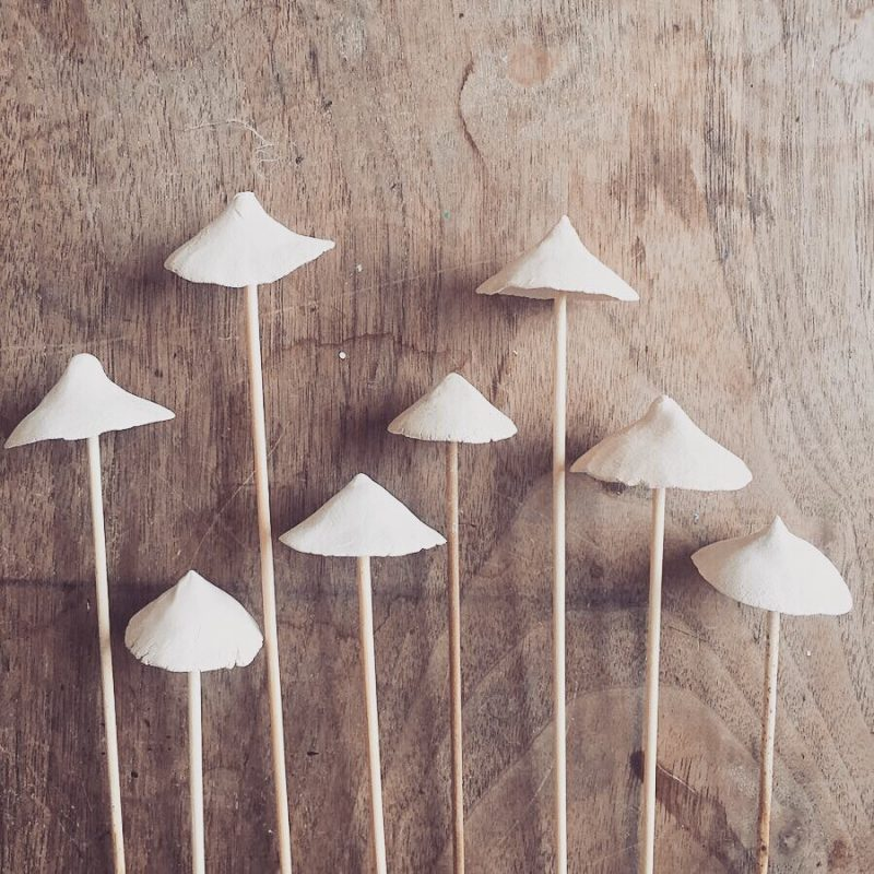 Ceramic mushroom