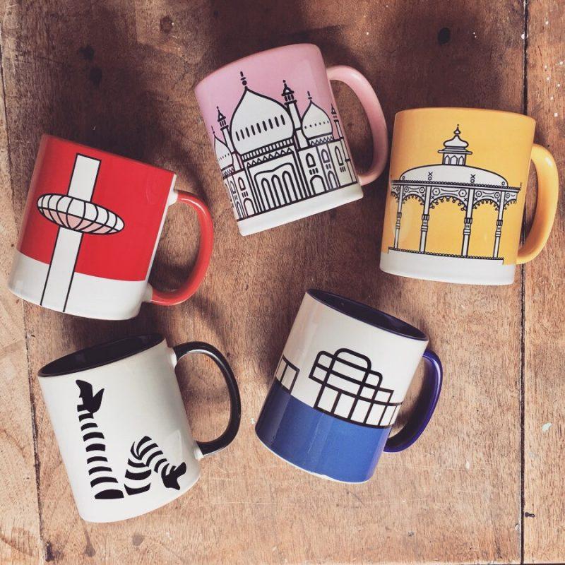 Brighton Mugs