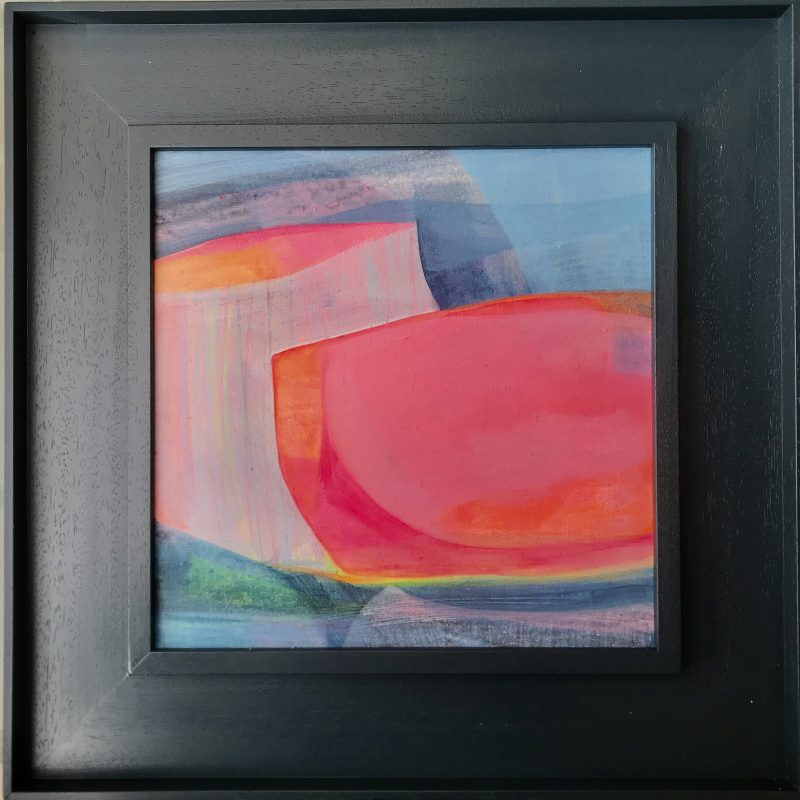Bright, colourful abstract of Sussex
