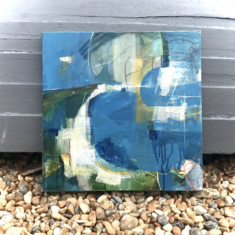 Abstract of the Sussex coast