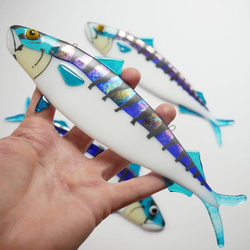 mackerel made of glass