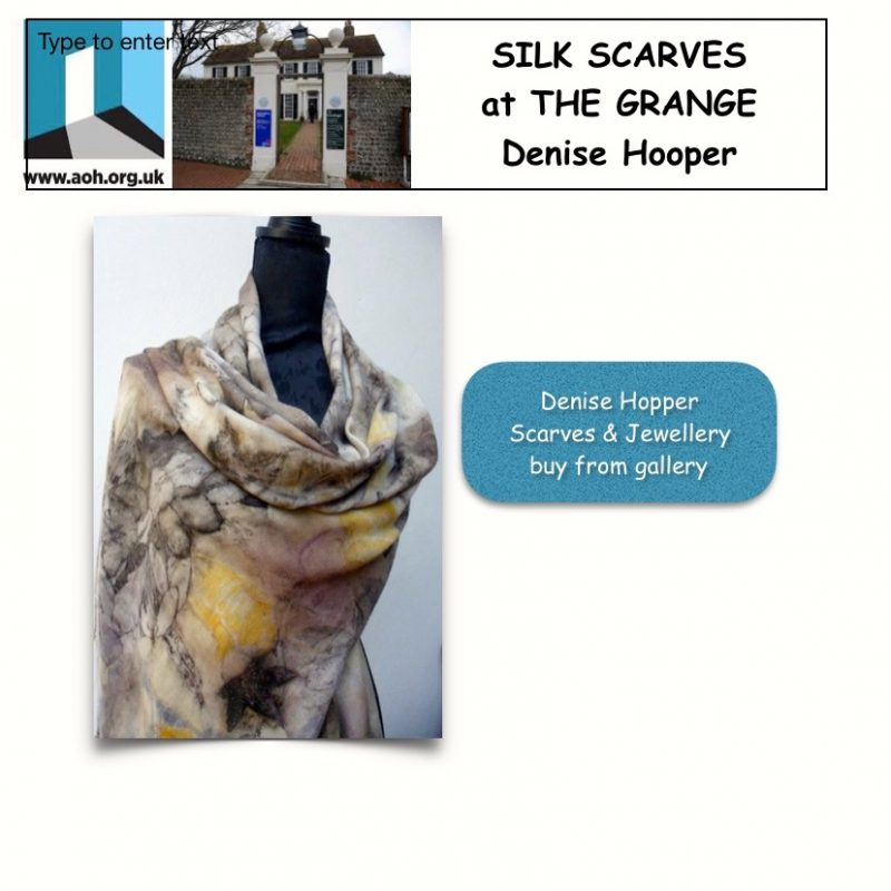 Silk Scarves at The Grange