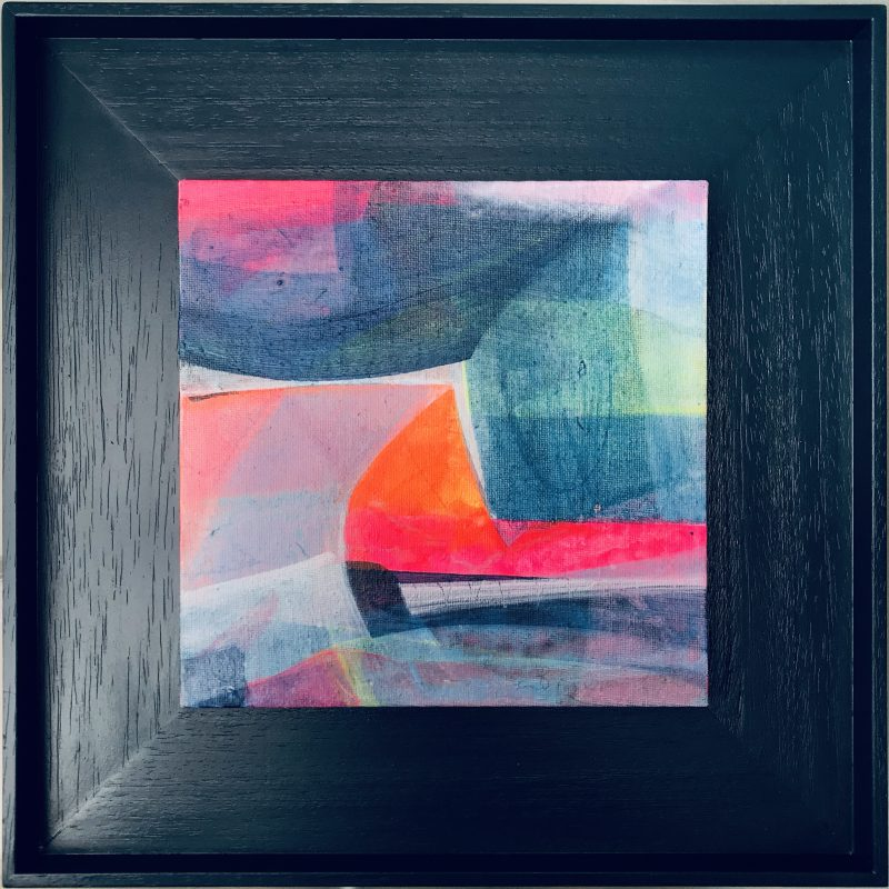 SOLD - Bright abstract landscape of Sussex