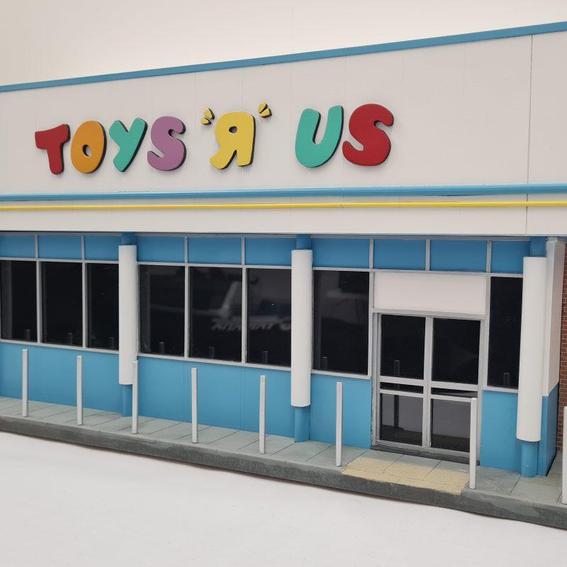 Toys R Us Store Miniature Sculpture