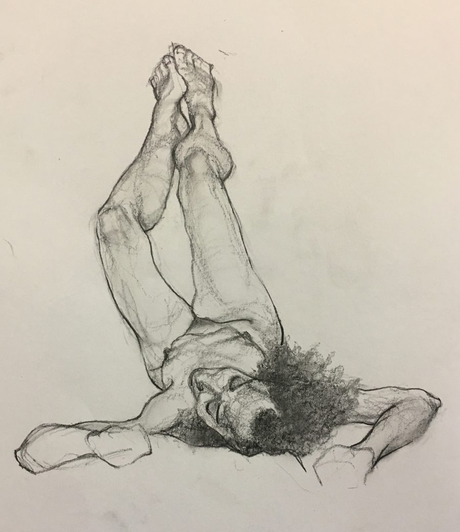 A life drawing