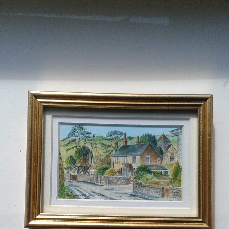 view of village clayton in autumn