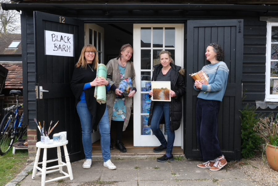 Four Artists from the Turner Dumbrell Workshops