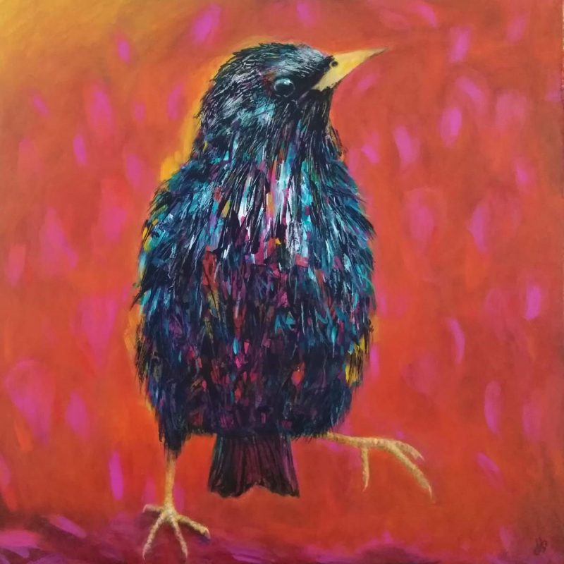 Professional quality prints of Starling Dance artwork by Diane Bailey