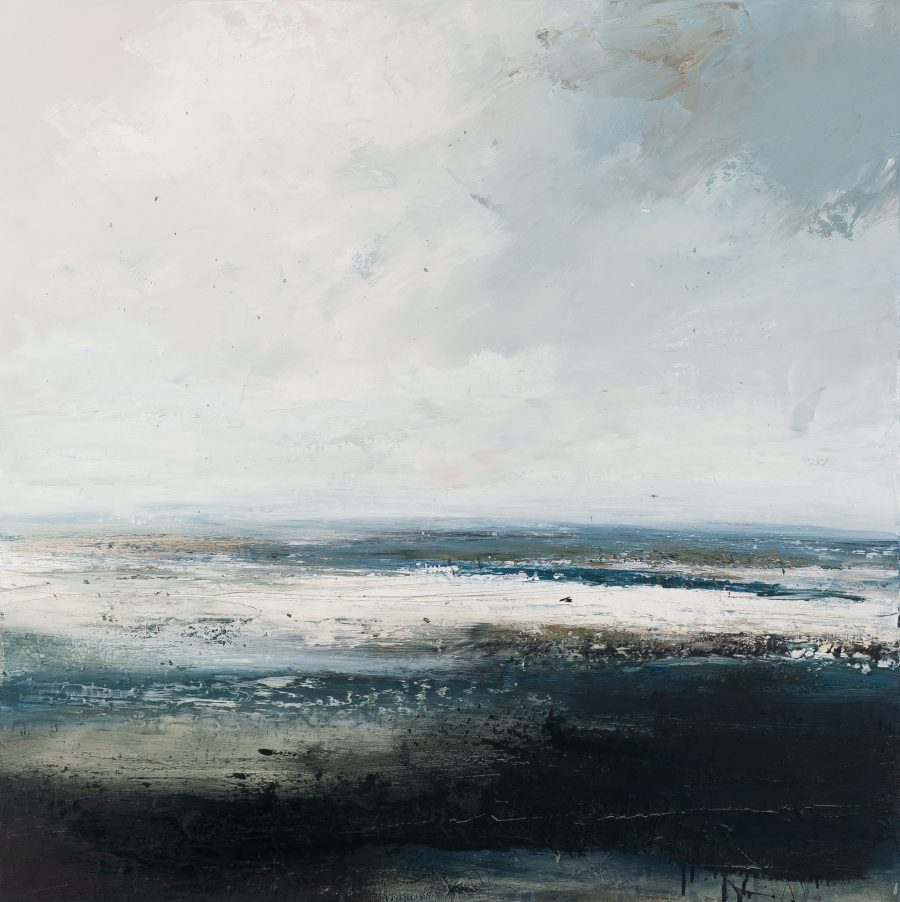 Contemporary seascape painting