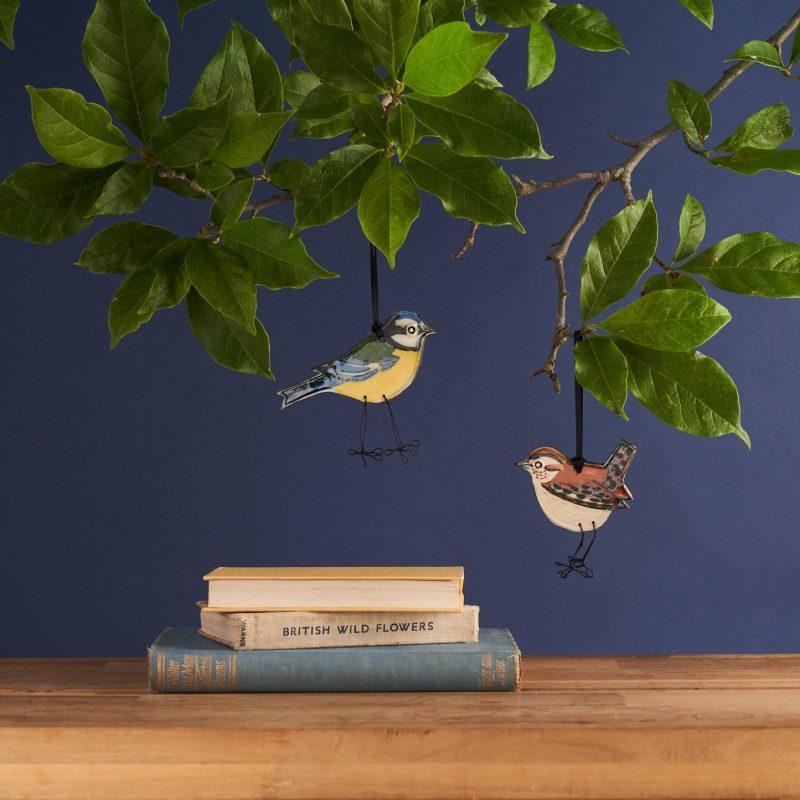 Ceramic decorative birds