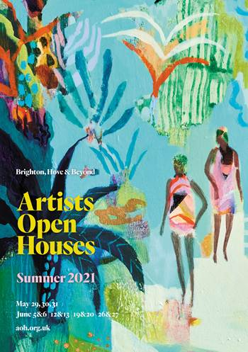 Brochure cover image: Becky Blair - Seaside Jungle?